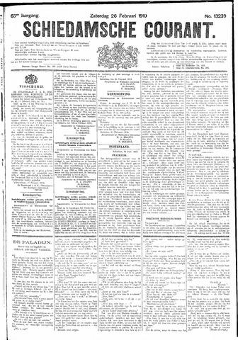 Schiedamsche Courant 1910-02-26