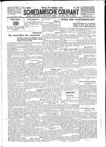 Schiedamsche Courant 1935-09-20