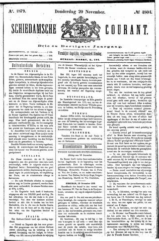 Schiedamsche Courant 1879-11-20