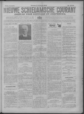 Nieuwe Schiedamsche Courant 1929-02-12