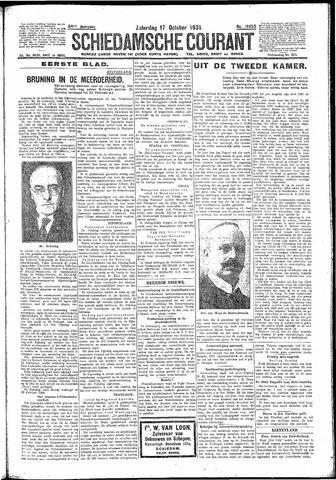 Schiedamsche Courant 1931-10-17