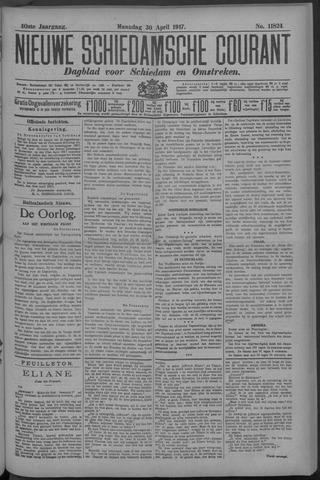Nieuwe Schiedamsche Courant 1917-04-30