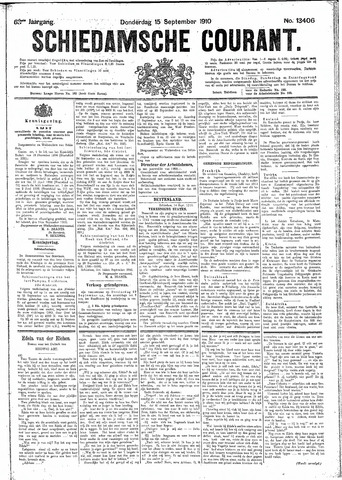 Schiedamsche Courant 1910-09-15