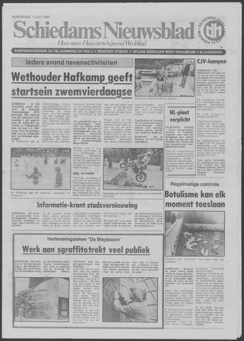 Schiedams Nieuwsblad 1984-07-04