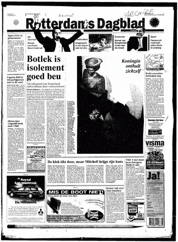 Rotterdamsch Nieuwsblad / Schiedamsche Courant / Rotterdams Dagblad / Waterweg / Algemeen Dagblad 1998-03-26