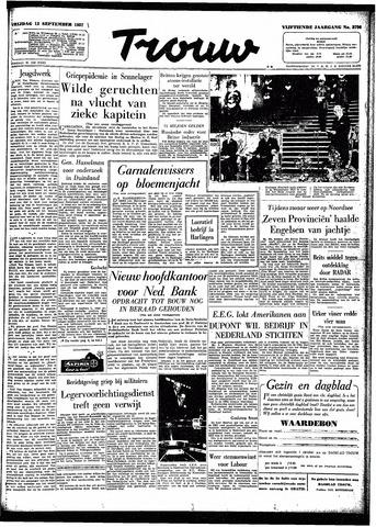 Trouw / De Rotterdammer 1957-09-13