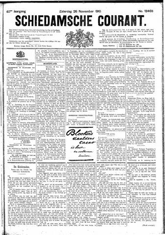 Schiedamsche Courant 1910-11-26