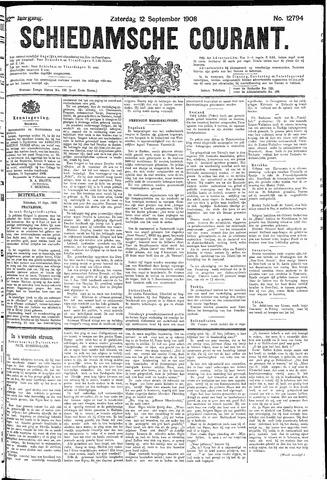 Schiedamsche Courant 1908-09-12