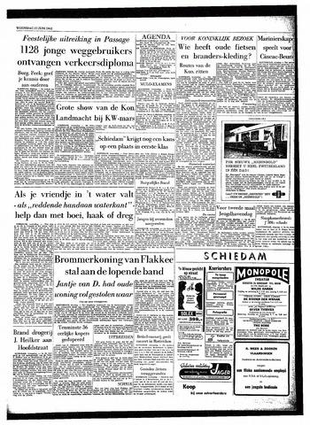 Rotterdamsch Parool / De Schiedammer 1962-06-27