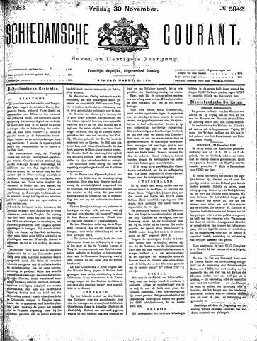 Schiedamsche Courant 1883-11-30