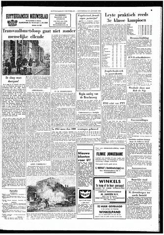 Rotterdamsch Nieuwsblad / Schiedamsche Courant / Rotterdams Dagblad / Waterweg / Algemeen Dagblad 1964-01-23
