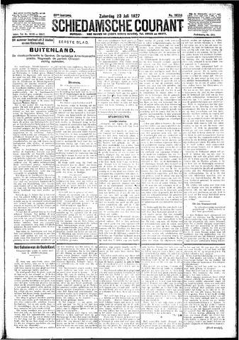 Schiedamsche Courant 1927-07-23