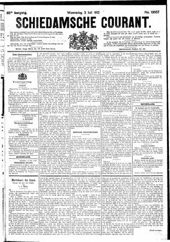 Schiedamsche Courant 1912-07-03