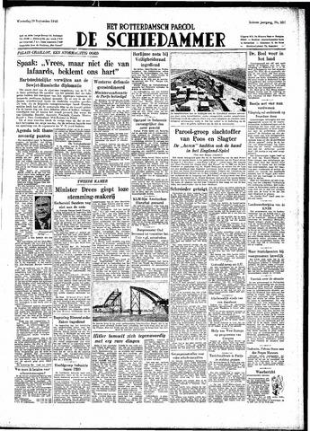 Rotterdamsch Parool / De Schiedammer 1948-09-29
