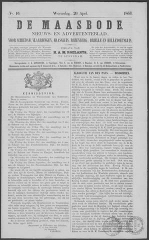 De Maasbode 1853-04-20