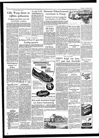 Rotterdamsch Parool / De Schiedammer 1955-02-04