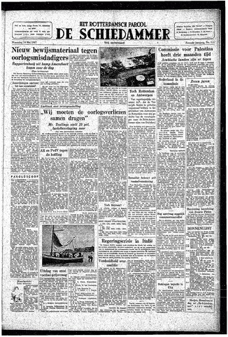 Rotterdamsch Parool / De Schiedammer 1947-05-14