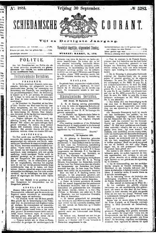 Schiedamsche Courant 1881-09-30