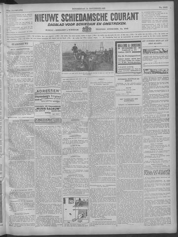 Nieuwe Schiedamsche Courant 1932-11-24