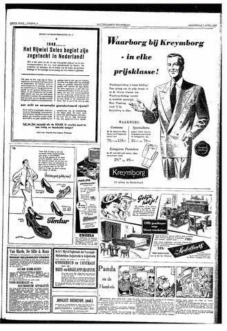 Rotterdamsch Nieuwsblad / Schiedamsche Courant / Rotterdams Dagblad / Waterweg / Algemeen Dagblad 1953-04-02