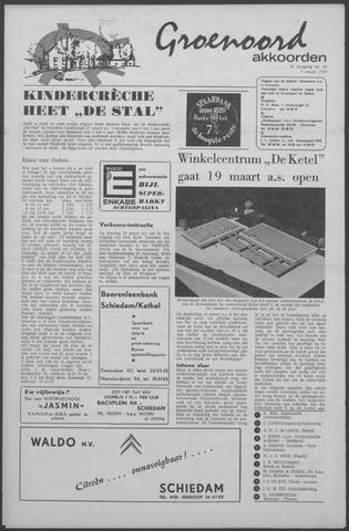 Groenoord Akkoorden 1970-03-05