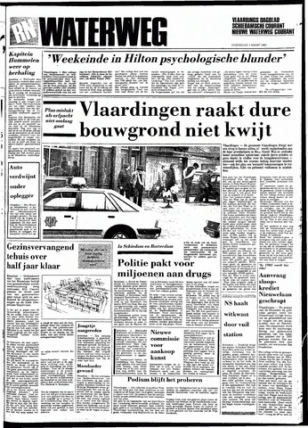 Rotterdamsch Nieuwsblad / Schiedamsche Courant / Rotterdams Dagblad / Waterweg / Algemeen Dagblad 1983-03-03
