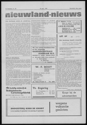 Nieuwland Nieuws 1964-09-10