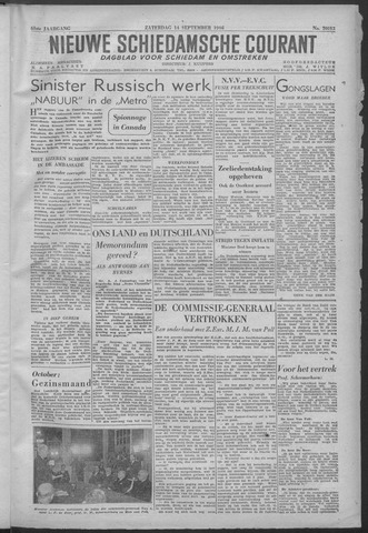 Nieuwe Schiedamsche Courant 1946-09-14