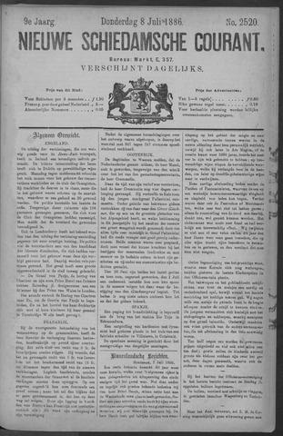 Nieuwe Schiedamsche Courant 1886-07-08