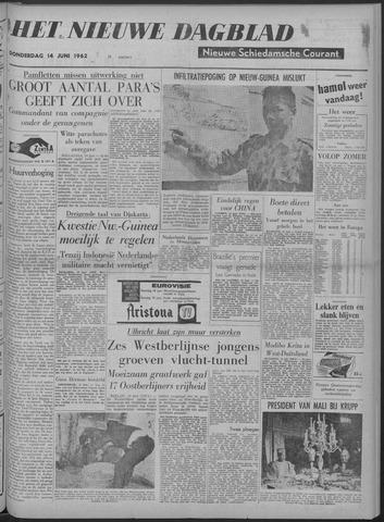 Nieuwe Schiedamsche Courant 1962-06-14