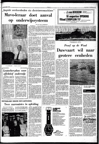 Trouw / De Rotterdammer 1970-08-17