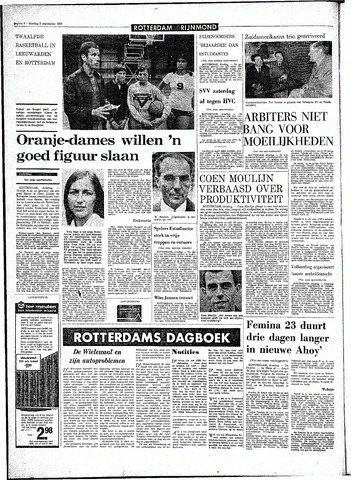 Rotterdamsch Parool / De Schiedammer 1970-09-08