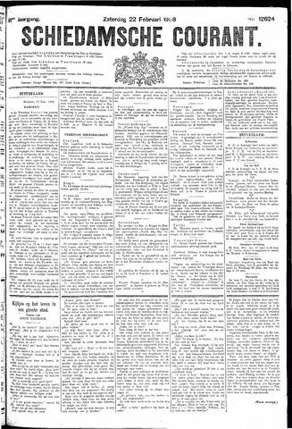 Schiedamsche Courant 1908-02-22