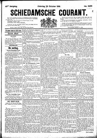 Schiedamsche Courant 1916-10-28