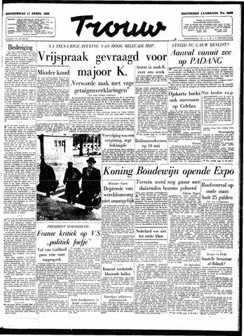 Trouw / De Rotterdammer 1958-04-17