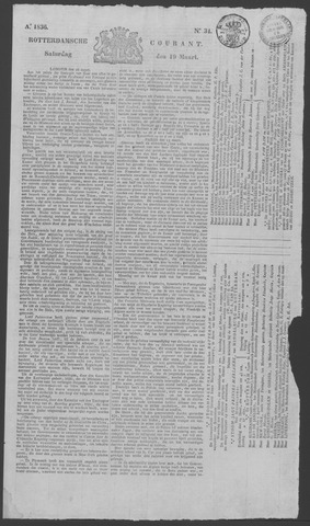 Rotterdamse Courant 1836-03-19