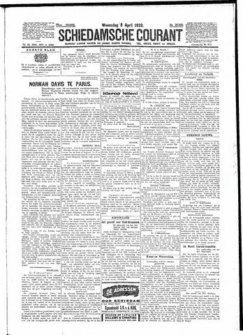 Schiedamsche Courant 1933-04-05