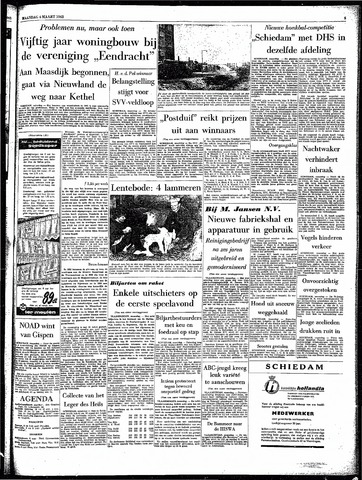 Rotterdamsch Parool / De Schiedammer 1963-03-04