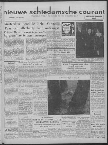 Nieuwe Schiedamsche Courant 1958-03-25