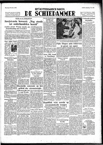 Rotterdamsch Parool / De Schiedammer 1948-10-04