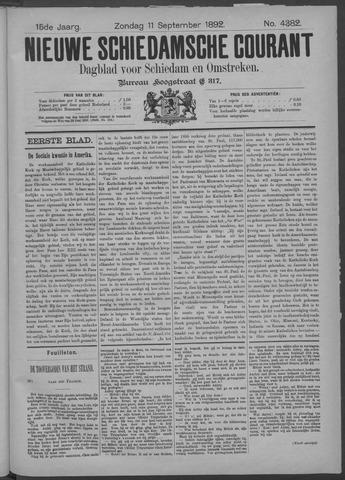 Nieuwe Schiedamsche Courant 1892-09-11
