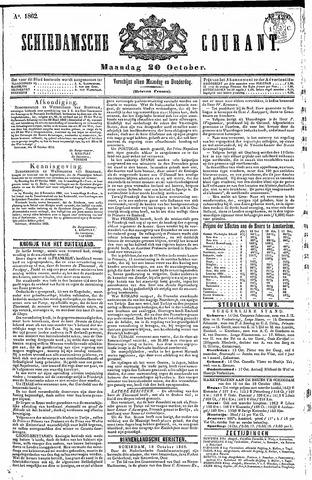 Schiedamsche Courant 1862-10-20