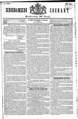 Schiedamsche Courant 1862-06-26
