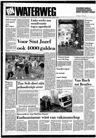 Rotterdamsch Nieuwsblad / Schiedamsche Courant / Rotterdams Dagblad / Waterweg / Algemeen Dagblad 1987-04-13
