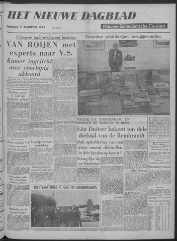 Nieuwe Schiedamsche Courant 1962-08-07