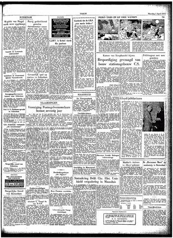Trouw / De Rotterdammer 1954-04-05
