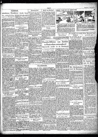 Trouw / De Rotterdammer 1953-06-02