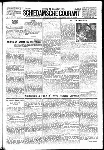 Schiedamsche Courant 1931-09-22