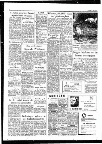 Rotterdamsch Parool / De Schiedammer 1955-05-07