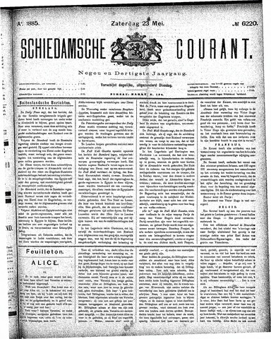 Schiedamsche Courant 1885-05-23